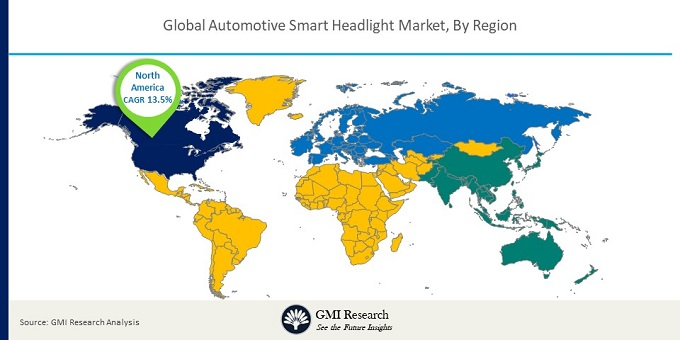 Global Automotive Smart Headlight Market